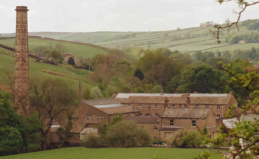 Photograph of Lothersdale Mill by Paul Hargeaves of Lothersdale